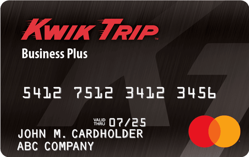 Kwik Trip Business Fuel Plus Mastercard®